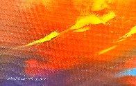 Lava 2017 23x31 Original Painting by Thomas Leung - 4