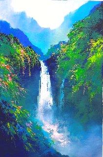 Magic Falls 2021 30x20 Original Painting - Thomas Leung