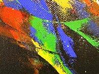 Joy 2020 59x39 Huge Original Painting by Thomas Leung - 3