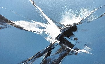 Exploration II 2020 39x63 Huge Original Painting - Thomas Leung