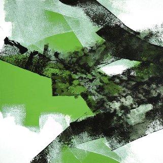 Wave 6 2020 16x16 Original Painting - Thomas Leung