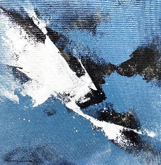 Wave 16 2020 16x16 Original Painting - Thomas Leung