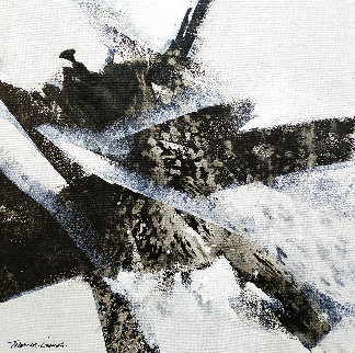 Wave 14 2020 16x16 Original Painting - Thomas Leung