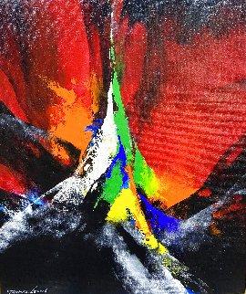 Joyful II 2020 24x20 Original Painting - Thomas Leung