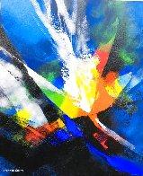 Joyful III 2020 23x20 Original Painting by Thomas Leung - 0