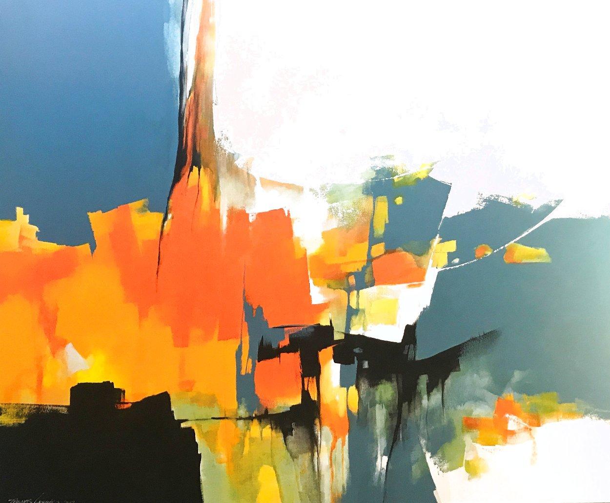 Expanse 2019 59x70 Huge Original Painting by Thomas Leung