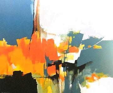 Expanse 2019 59x70 Super Huge Original Painting - Thomas Leung