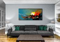 Exploration 2019 47x98 Huge Original Painting by Thomas Leung - 2