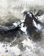 Snow Mountain Top 2020 20x16 Original Painting by Thomas Leung - 0