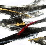 Exchange II 2017 39x39 Original Painting by Thomas Leung - 0