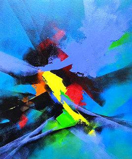 Joyful I Original Painting - Thomas Leung