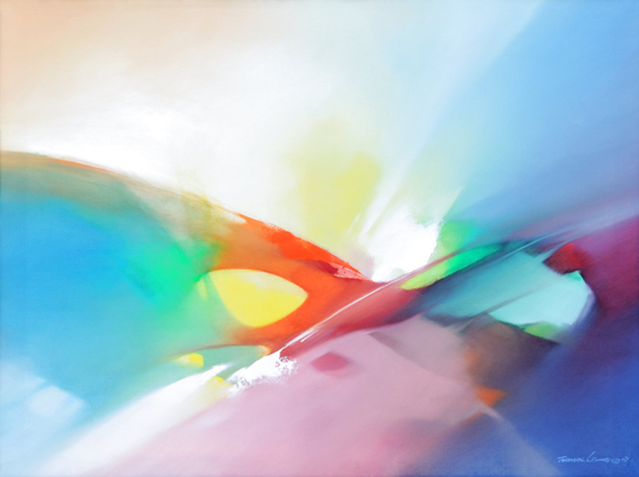 Extend 2016 24x30 Original Painting by Thomas Leung