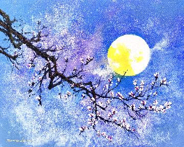 Moon Lighting 2020 20x24 Original Painting - Thomas Leung