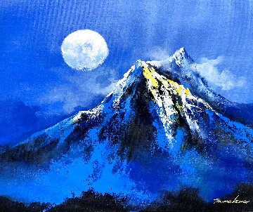 Under the Moon 2020 20x24 Original Painting - Thomas Leung