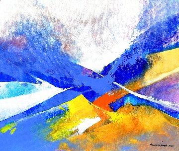 Interflow 2021 20x24 Original Painting - Thomas Leung