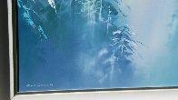 Winter Splendor 48x36 Super Huge Original Painting by Thomas Leung - 3