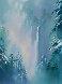 Winter Splendor 48x36  Original Painting by Thomas Leung - 0