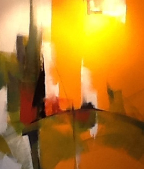 Synchonicity Suite of 5 Paintings 2008 Original Painting by Thomas Leung