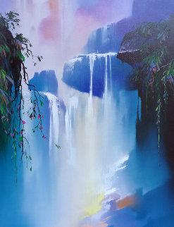 Magic Falls Embellished 1993 Limited Edition Print by Thomas Leung