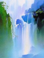 Misty Falls 1991 Limited Edition Print by Thomas Leung - 0
