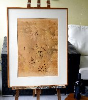 Monotype 27x19 Works on Paper (not prints) by Mark Tobey - 1