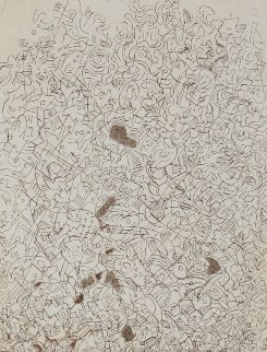 Psaltery, 2nd Form Limited Edition Print - Mark Tobey