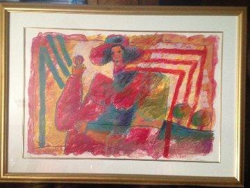 La Dame Qui Jongle 1988 Limited Edition Print by Theo Tobiasse