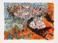 H. C. Andersen: La Reine Des Neiges 1977 Limited Edition Print by Theo Tobiasse - 1