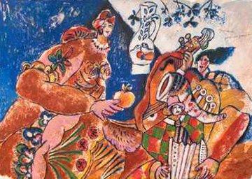 Symphonie Pour Une Pomme 1997 Limited Edition Print - Theo Tobiasse