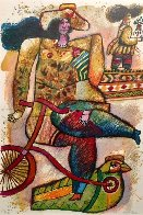 La Colombe Et Le Roi-Mage Limited Edition Print by Theo Tobiasse - 1