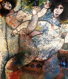 La Lumiere Du Prophet 1965 Limited Edition Print - Theo Tobiasse