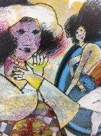 Je Marche Dans Des Temps Perdu 1988 Limited Edition Print by Theo Tobiasse - 2