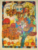 Four Lights of the Midrash, Suite of 4  1980 Limited Edition Print by Theo Tobiasse - 3