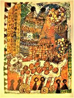 Four Lights of the Midrash, Suite of 4  1980 Limited Edition Print by Theo Tobiasse - 4