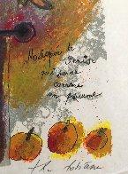 Melopeè De Venise Qui Sonne Comme Un Psaume Limited Edition Print by Theo Tobiasse - 5