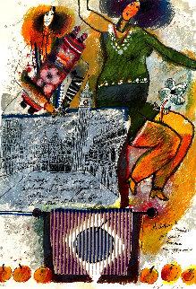 Melopeè De Venise Qui Sonne Comme Un Psaume Limited Edition Print by Theo Tobiasse