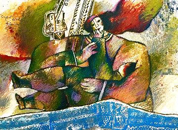 L'enfant Habille De Lumiere Mystique 1980 Limited Edition Print - Theo Tobiasse