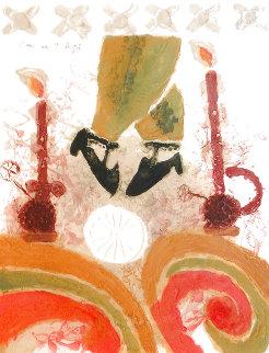 La Danse Aux Deux Bougais Limited Edition Print - Theo Tobiasse
