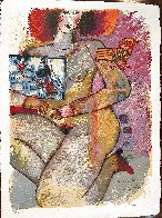Parfum Dodalisque-2 1970 Limited Edition Print by Theo Tobiasse - 1