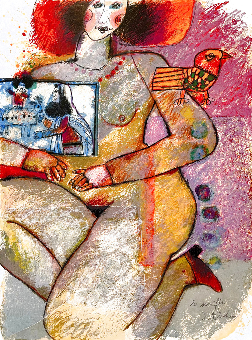 Parfum Dodalisque-2 1970 Limited Edition Print by Theo Tobiasse