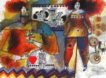 Un Souvenir Opaque Laisse Entre Les Mots Limited Edition Print - Theo Tobiasse