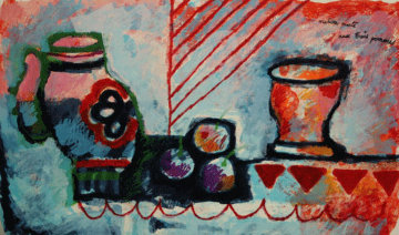 Nature Morte - Homage to Picasso Limited Edition Print - Theo Tobiasse