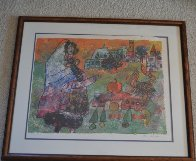 Untitled Lithograph Limited Edition Print by Theo Tobiasse - 1