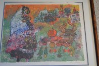Untitled Lithograph Limited Edition Print by Theo Tobiasse - 2