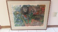 Bearded Man With Flower Limited Edition Print by Theo Tobiasse - 1