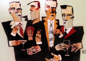 All My Vices 2005 Embellished  Limited Edition Print by Todd White