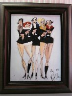 Cosmopolitan 2004 Embellished With Remarque Limited Edition Print by Todd White - 2