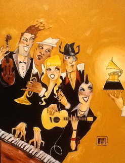 Grammy Embellished 2007 Limited Edition Print by Todd White