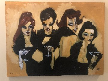 Drinking Boas 2003 Limited Edition Print by Todd White