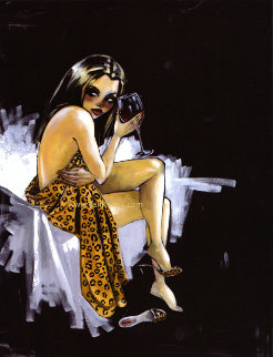 Cami 2011 Embellished Limited Edition Print by Todd White